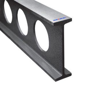Thước cầu 2,5m bằng thép, cấp chính xác GG1, thiết diện chữ I, chuẩn DIN 874.