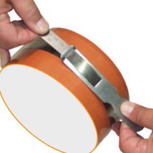 Thước đo đường kính 1900-2300mm, inox khắc axit 181606, chu vi 5960-7280mm