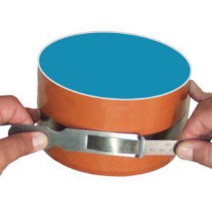 Thước đo chu vi 3450-4720mm, carbon steel khắc axit 181614, đo đường kính.