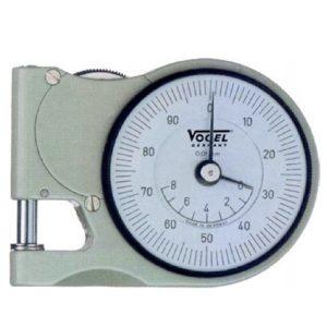Đồng hồ đo độ dày 0-8 mm Vogel 240403, độ chính xác 0.01mm, bỏ túi.