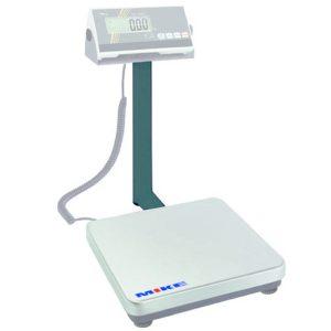 Cân bàn điện tử 150kg, bước nhảy 100g, bàn cân inox 310x305x55mm.