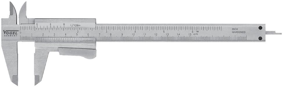 thước cặp du xích 150mm cho đào tạo nghề Vogel 201020.2
