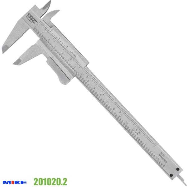 Thước cặp cơ khí 150 mm, chuyên cho đào tạo nghề, khóa thước tự động.