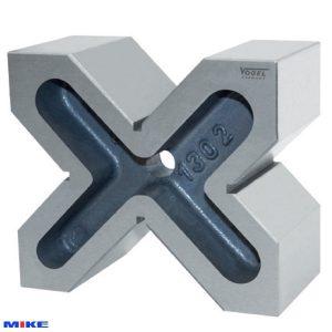 Khối chuẩn V-Block 60x120x100mm, Grade 1, dung sai song song ±0.016mm.