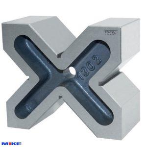 Khối chuẩn V-Block 75x150x130mm, Grade 0, dung sai song song ±0.008mm.