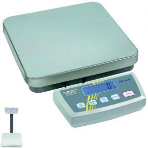 Cân bàn điện tử 150kg chống nước IP65, bàn cân inox 522x304x90mm.