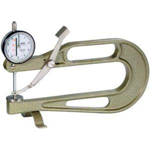 Đồng hồ đo độ dày 240423, vật liệu tấm từ 0-30mm, độ sâu ngàm đo 200mm.