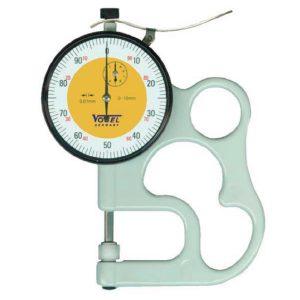 Đồng hồ đo độ dày vật liệu 0-10 mm, đầu đo bằng gốm sứ, đo vật nóng. Vogel 240480