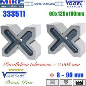 Khối chuẩn V-Block 60x120x100mm