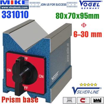 Khối V-Block 80x70x95mm đế từ chữ V