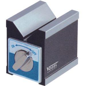 Khối V từ tính V-Block 127x60x73mm, đk phôi Ø6-35mm, đế từ phẳng