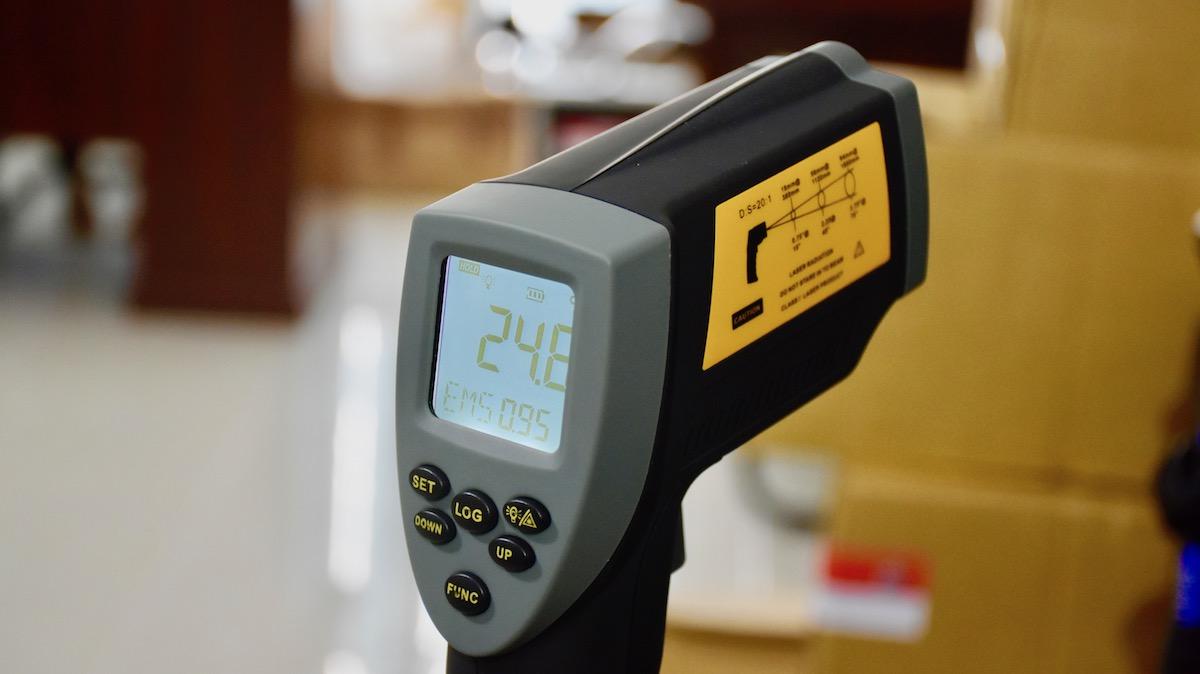 máy đo nhiệt độ hồng ngoại 1100 độ C