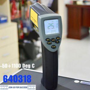 Máy đo nhiệt độ từ xa bằng hồng ngoại, thang đo từ -50 +1110 độ C