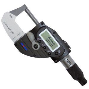 Panme điện tử 0-25mm 230580, cấp bảo vệ chống nước IP65, mini USB.