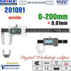 Thước cặp điện tử đo ngoài 0-200mm