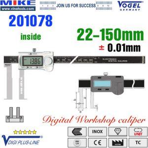 Thước cặp điện tử đo trong 22-150mm