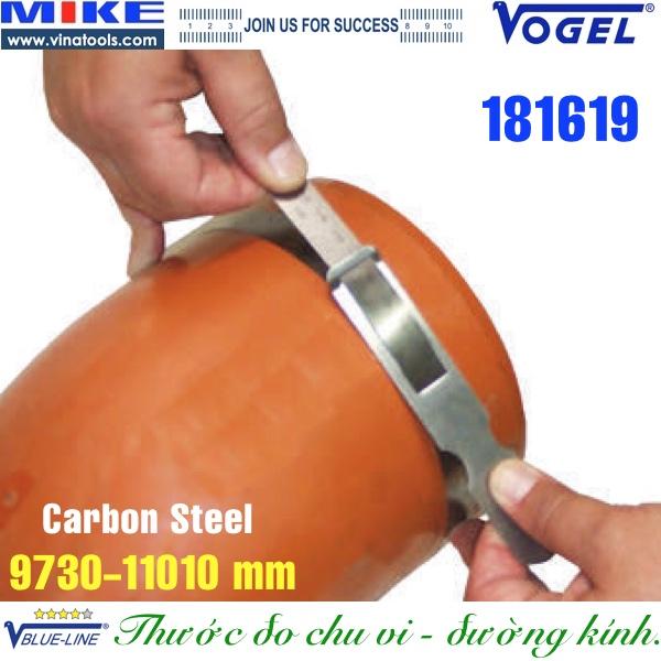 Thước đo chu vi, đường kính 9730-11010mm, carbon steel
