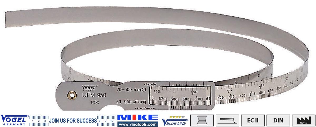 Thước đo chu vi, đường kính 60-950mm, carbon steel