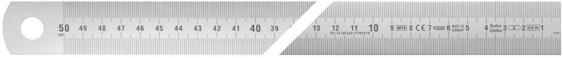 thước thép hướng đọc từ phải sang trái Vogel Germany.