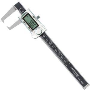 Thước cặp điện tử đo ngoài 0-200mm. Thước kẹp điện tử đo rãnh 200mm.