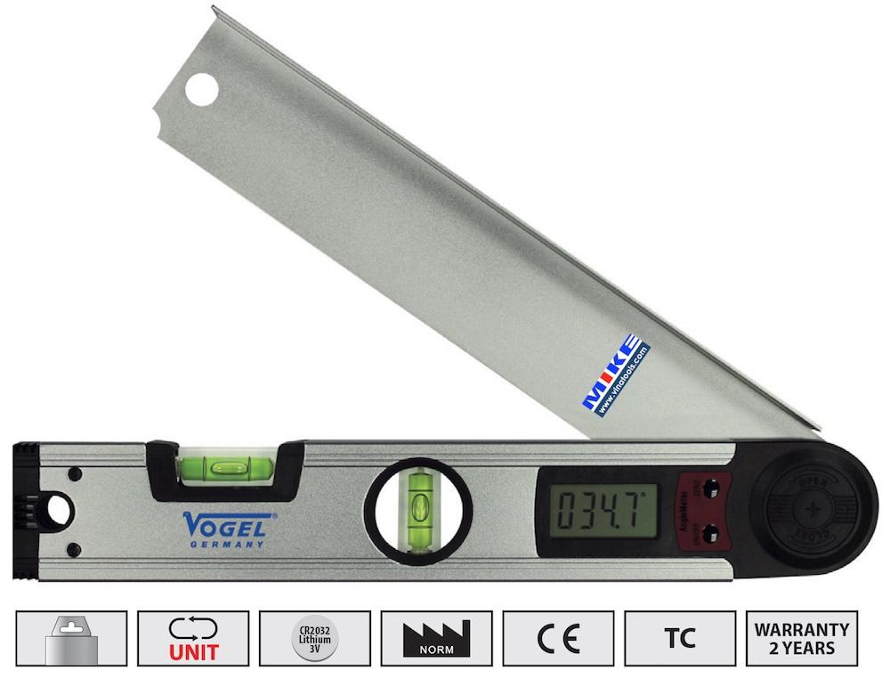 Thước thuỷ điện tử 305mm, đo góc nghiêng