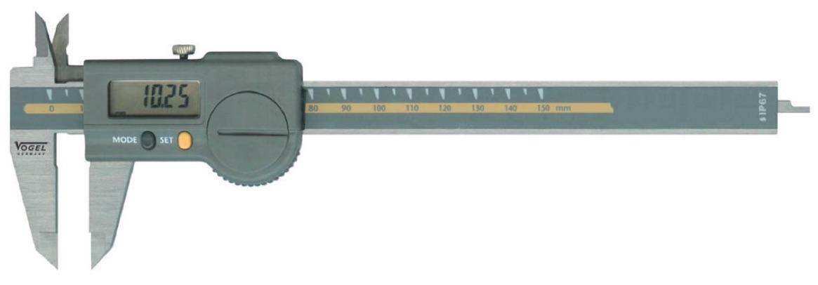 Thước cặp điện tử 200mm Vogel Germany. Model 200251