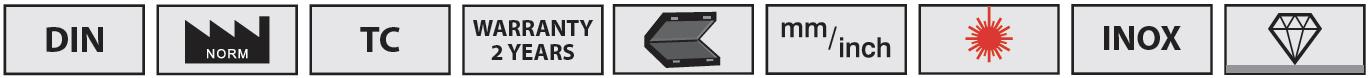 các tính năng tiêu biểu của thước kẹp cơ dòng 2005 Series.