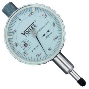Đồng hồ so cơ 0-1.0mm Vogel 240008, độ chính xác 0.002mm, chống sock.