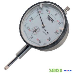 Đồng hồ so cơ 0-1mm Vogel 240133, độ chính xác 0.001mm, vạch chia 0.2mm.