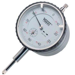 Đồng hồ so cơ 0-10mm Vogel 240131/1, độ chính xác 0.01mm, lưng từ tính.