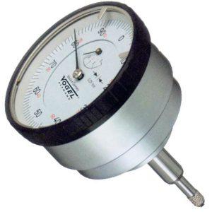 Đồng hồ so cơ 0-5mm Vogel 240024, độ chính xác 0.01mm, trục đo bắt lưng.