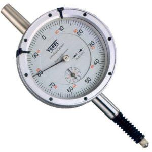 Đồng hồ so cơ 0-10mm Vogel 240151, độ chính xác 0.01mm, vạch chia 1mm.