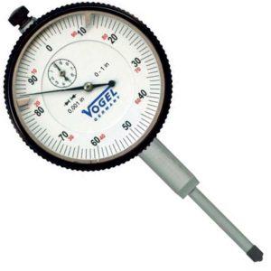 Đồng hồ so cơ 0-1.0mm Vogel 241136, độ chính xác 0.001mm, vạch chia 0.1mm.