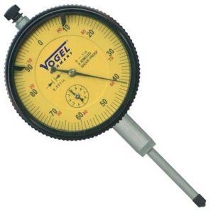 Đồng hồ so cơ 0-1.0mm Vogel 241137, độ chính xác 0.001mm, vạch chia 0.1mm.
