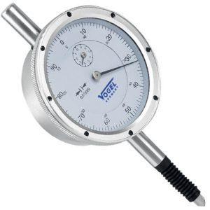 Đồng hồ so cơ 0-10mm Vogel 241143, độ chính xác 0.01mm, vạch chia 1mm.