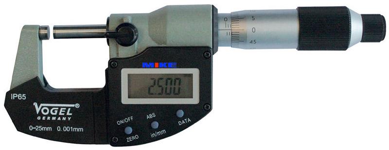 23013 panme điện tử cấp IP65 vogel