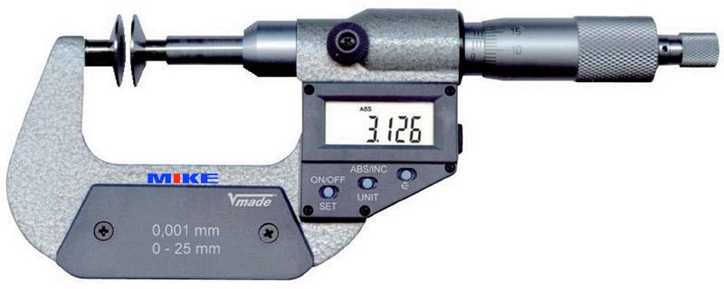 23117 panme điện tử đo ngoài 0-100mm Vogel