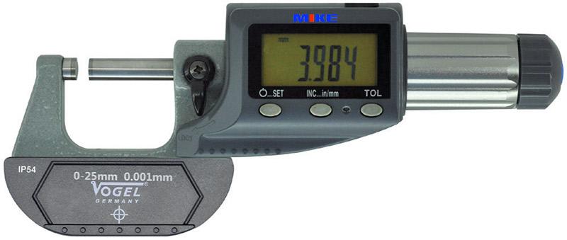 23123 panme điện tử cấp IP54 Vogel