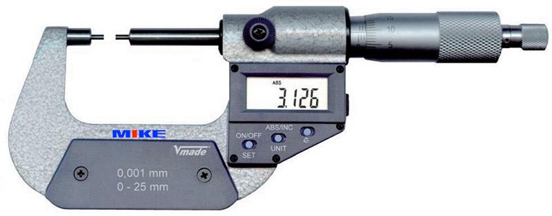 2328 panme đo ngoài điện tử 0-50mm Vogel