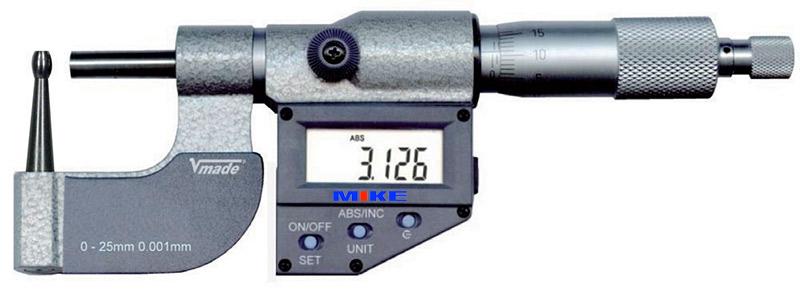 232813 panme điện tử đo ngoài 0-25mm