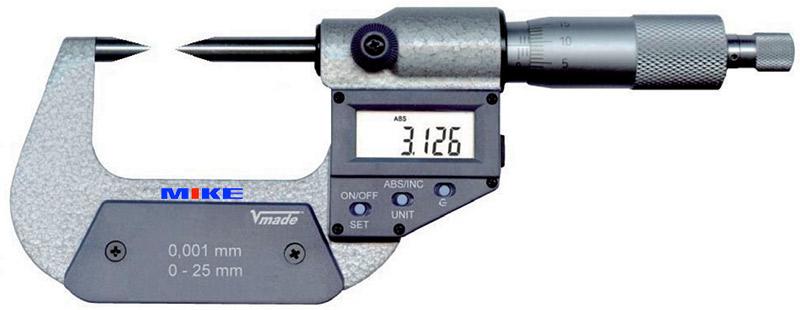 2329 panme đo ngoài điện tử 0-25mm Vogel