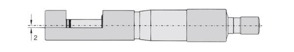232902 Panme cơ đo ngoài 0 - 10mm, độ chính xác ±0.01mm